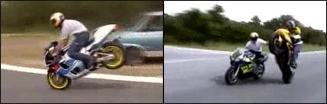 cool bike stunts
