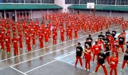 Gefängnisinsassen Gangnam Style