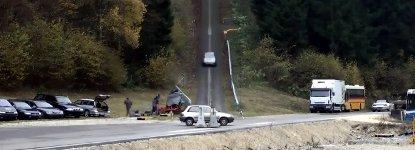 Crashtest mit 200 km/h