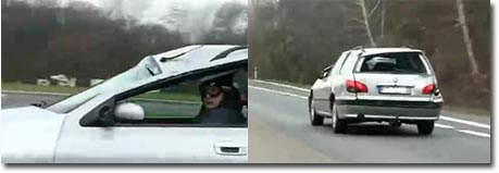crashcar, autobahn