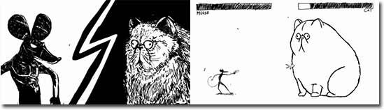 Kampf der Kreaturen - Maus vs Katze