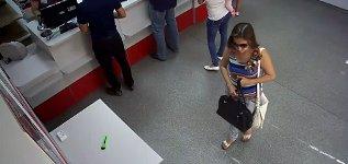 Verbrechen Cutter Diebstahl Frau