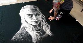 Daenerys Targaryen Salz Portrait