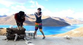 Jake Gaba, China, tanzen