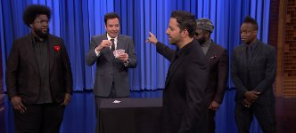 David Blaine zaubern Jimmy Fallon