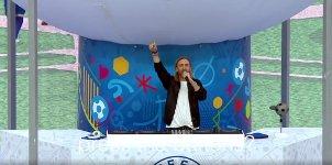 David Guetta Show EM Eröffnungsfeier