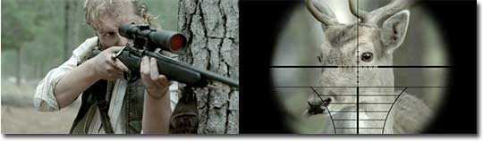 Deer Rudolph and Eagle Eye, Samsung