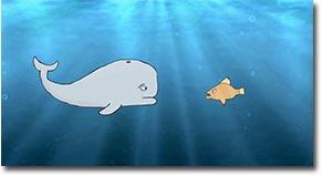 depressiver Wal, Depressed Whale