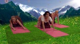 Dirndl Yoga
