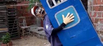 Dixi Klo-Kostüm