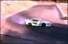 drifting, crash