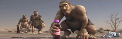 milch, caveman, säbelzahntieger, sabretooth