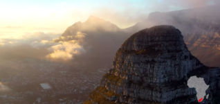 Cape Town to Cairo Africa Drone