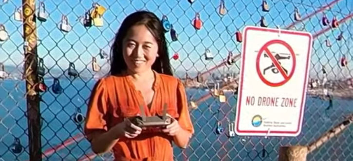 Drones are banned here