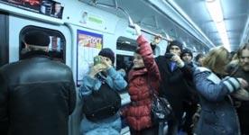U-Bahn, Pinguin, Schlagzeug