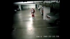 betrunkener Weihnachtsmann, drunk santa claus, cam