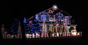 Weihnachtsbeleuchtung 2012