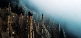 Erdpyramiden in den Dolomiten