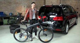 Fahrradträger montieren Lina Van de Mars