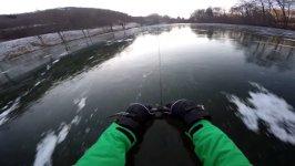 80 km/h gefrorenen See Seilwinde