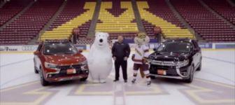 Eisbär glatt Werbung