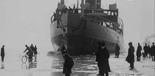 Eisbrecher vor Helsinki 1920