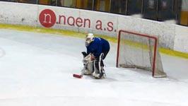 Eishockey Torhüter betrunken
