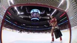 Best Hockey Goal Camera Shot Ever