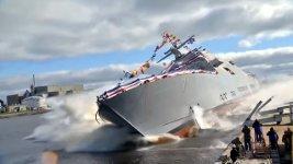 Stapellauf Schiff Boot