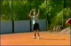 Erste Hilfe bei Schürfwunden - Tennis
