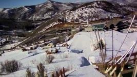 erster skisprung, mädchen, girl