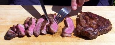 Arten ein Steak zuzubereiten