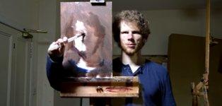 Ewan McClure Selbstbildnis time-lapse
