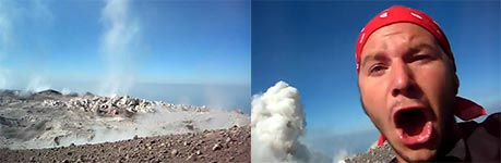 vulkan ausbruch, explosion