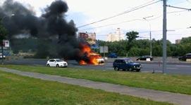 Explosion Auto, Russland