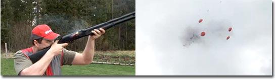 Kenneth Aspestrand - Extreme shooting, Tontaube schießen