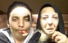 Face Swap Rauch Gesicht