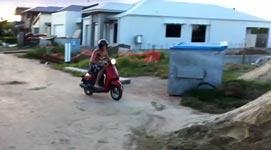 faceplant, motorroller