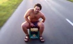 Fahrende Bierkiste