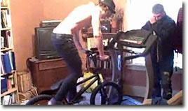 fahrrad, laufband, fail