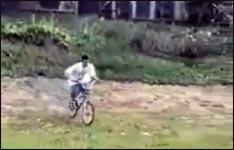 Fahrrad, Überschlag