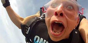 Fallschirmsprung Zahn