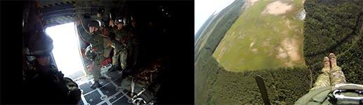 Fallschirmjäger, Wald