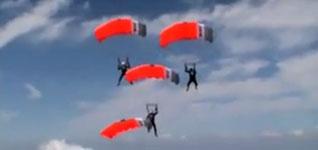 Fallschirmspringen, Schuhe