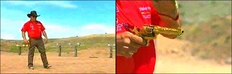 kanone, knarre, pistole, waffe, fastes gun ever