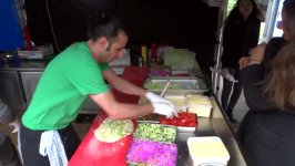 World's FASTEST Falafel Wrap Maker
