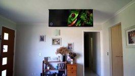 Fernseher Wohnzimmerdecke