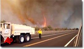 Feuer, Fire, Tornado, Hawaii, Brazil