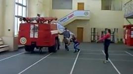 Feuerwehr, Leiter, Test, Prüfung
