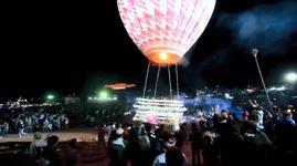 Fire Balloon Festival Myanmar